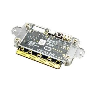 Image 3 - BBC Micro: bit Starter Kit met Micro bit Acryl case + Micro bit batterij case Alligator Clips Gebruikt voor Onderwijs DIY Beginners