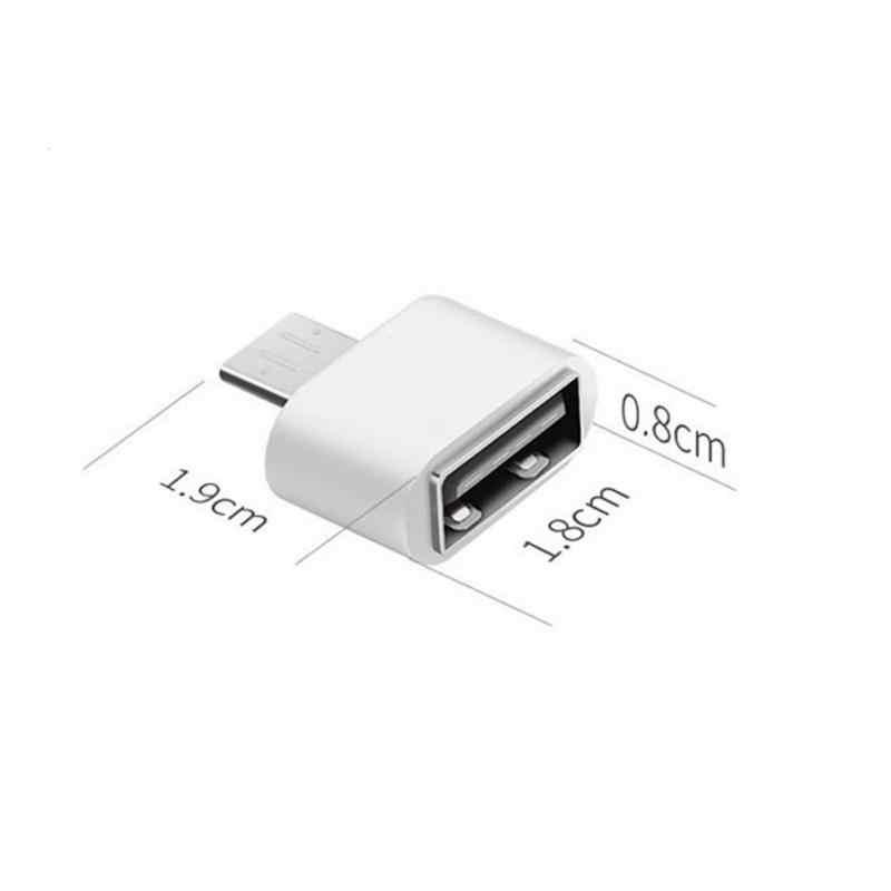 Usb 3.1 Type-C Naar Usb 2.0 Adapter Connector Voor Samsung Huawei Mobiele Telefoon Accessoires Adapter