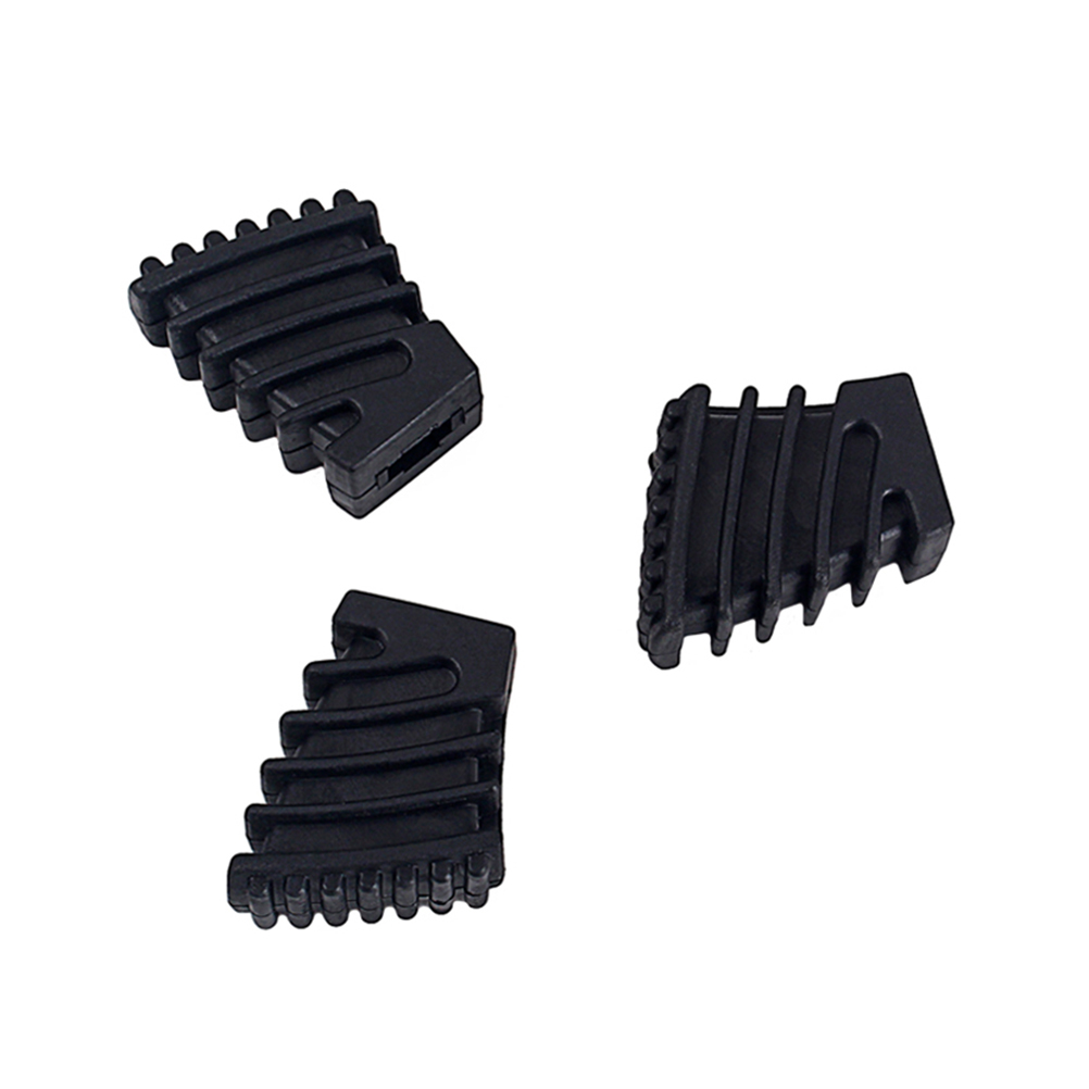 3pcs Drum Rubber Feet Drum Rack Floor Protector Percussion Parts For Drum Hardware Cymbal Stand Rack Bracket