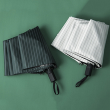 Parachase Automatic Umbrella Rain Women Black Coating Sunscreen Folding Umbrellas Travel Outdoor Pocket Windproof 8 Rib