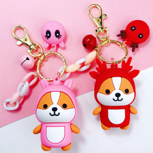 2020 Creative Cute Squirrel Key Chains Variety Cartoon Couple Key Chain Car Key Ring Bag Pendant Accessories Gifts For Friends creative simulation lobster key chains pendant popular key ring ornament cute gifts ls1908052