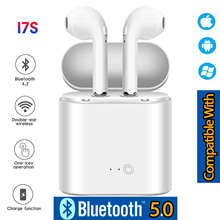 I7s TWS Bluetooth 5.0 Earphone Stereo Earbud Bluetooth Headset with Charging Pod Wireless Headsets for All Smart Phone W8D0(China)