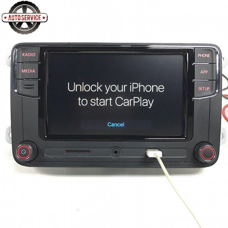 Nuevo RCD330 más RCD330G Carplay MIB 6,5 pulgadas Radio para Jetta MK5 MK6 CC Passat 6RD035187B 1GB de RAM cámara de Vista trasera Bluetooth USB