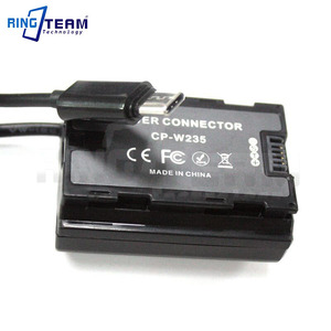 Image 3 - PD/QC3.0 إلى NP W235 الدمية البطارية CP W235 تيار مستمر مقرنة ل FUJIFILM X T4 XT4 كاميرات رقمية