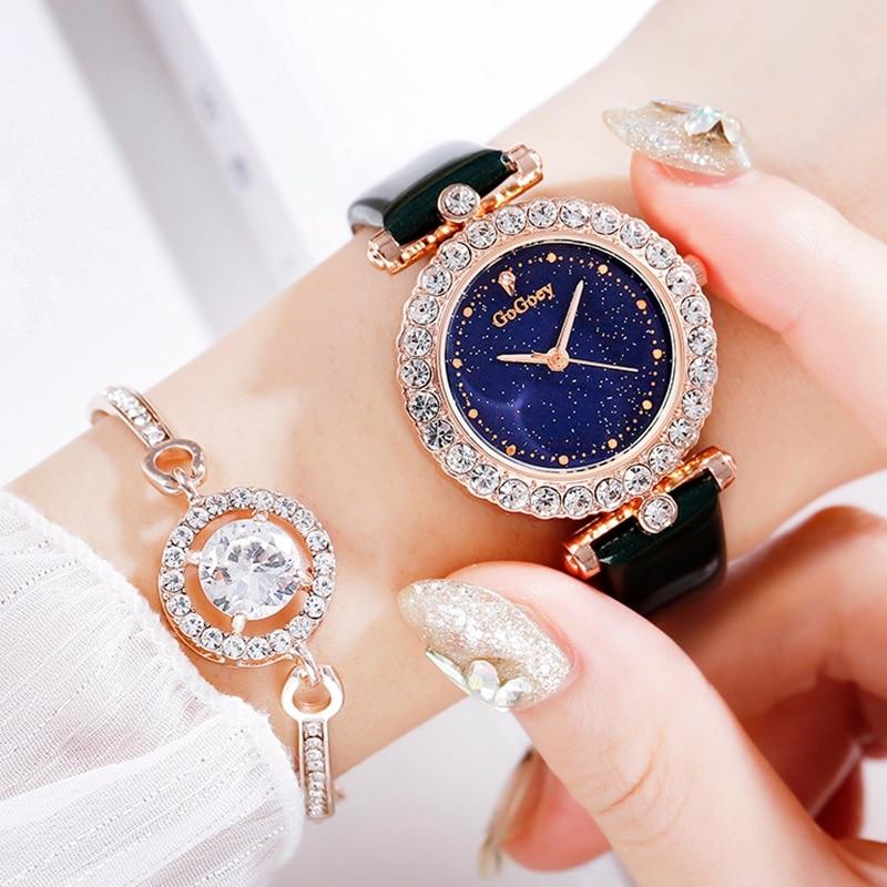 Simple Women Leather Quartz Watch Casual Vintage Leather Band 2019 Fashion Design Luxury Women's Luxury Clock Female Watches