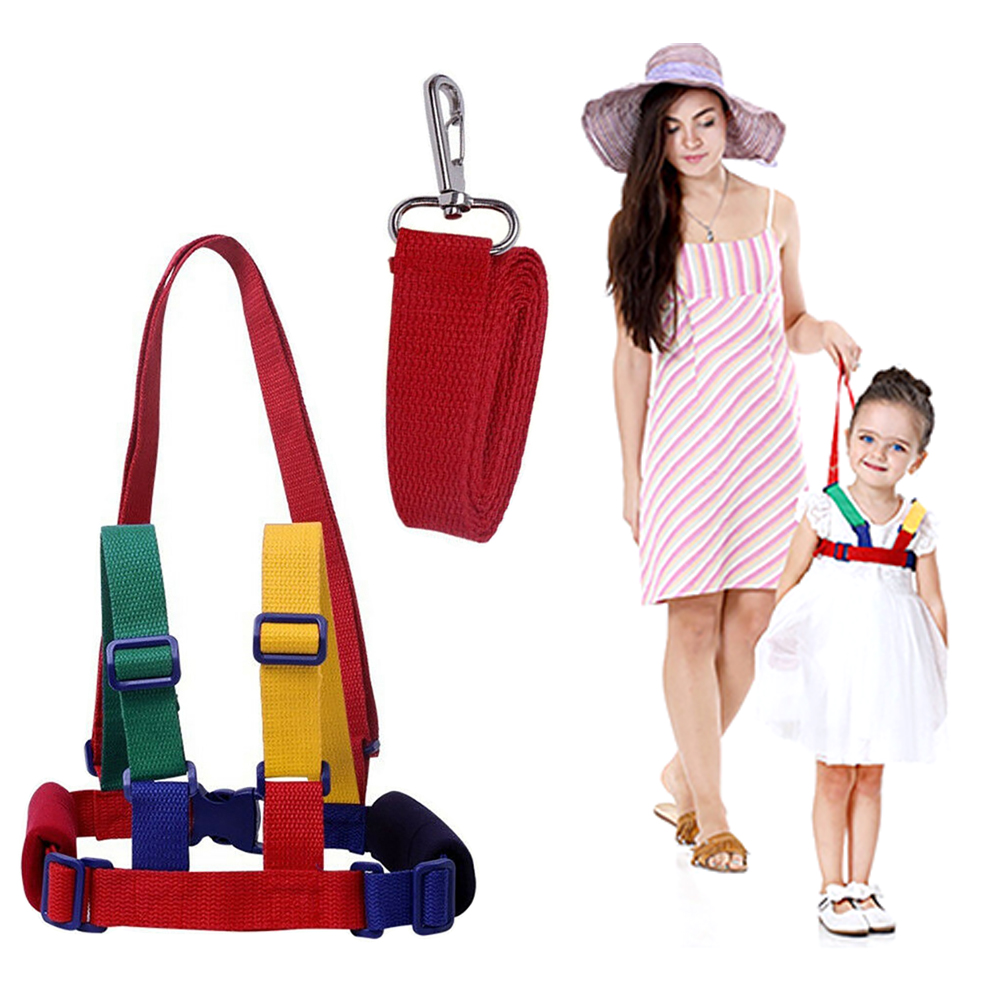 Best AntiLost  Belts For Kids Out Safety Belt Baby Kid With Child Safety Harness Wrist Leash Walking Backpack For 1-10 Years Old Kids