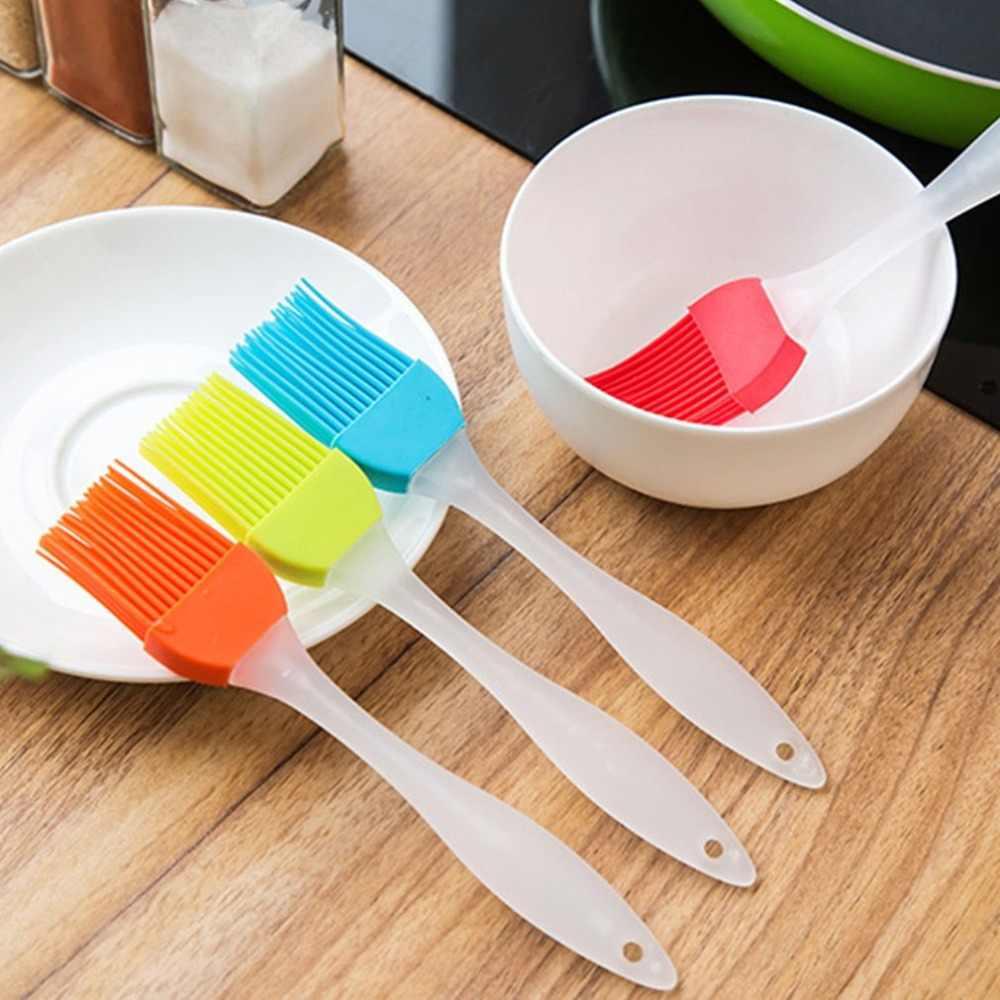 簡単きれいにするシリコーンベーキング耐熱皿パンクックペスト油クリームバーベキューツールしつけブラシ台所用品