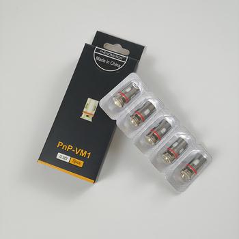 Zjawisko PnP cewka VM1 0 3ohm VM4 0 6ohm VM6 0 15ohm PnP R1 0 8ohm cewka zastępcza parownika do zestawu VINCI Mod Pod tanie i dobre opinie PHENOMENON NONE CN (pochodzenie) VINCI R Vinci X VINCI VINCI Mod Pod Kit DS Dual
