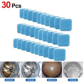 Pralka zbiornik antybakteryjne tabletki do czyszczenia podkładka dokładne czyszczenie tabletka musująca odkażanie Detergent Efferve tanie i dobre opinie 12pcs inny