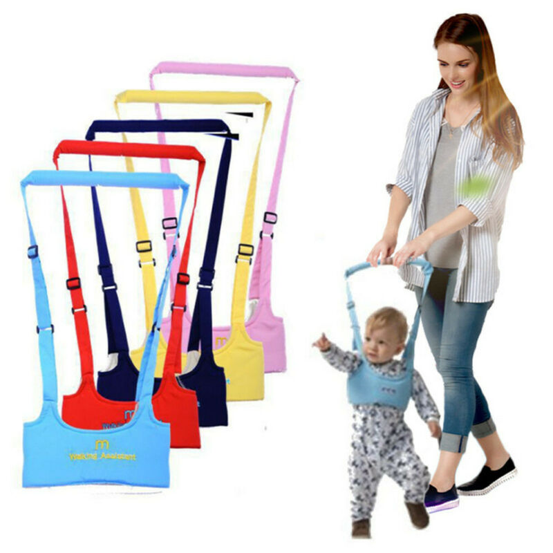 2020  Pudcoco Baby Kid Toddler Safety Harness Handle Learning Walk Assistant Walking Helper