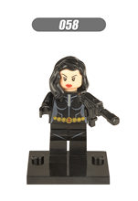 Wang Xin Building Blocks Xh058 Superhero Series Black Widow Children'S Educational Assembled Doll Toy(China)