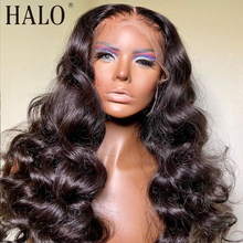 30 32 40 Polegada brasileiro solto onda profunda peruca hd transparente 13x6 frente do laço perucas de cabelo humano para preto pré arrancado frontal
