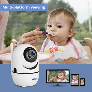 Image 4 - KERUI HD 1080P كاميرا داخلية صغيرة لاسلكية أمن الوطن واي فاي كاميرا IP كاميرا مراقبة للرؤية الليلية كاميرا تلفزيونات الدوائر المغلقة