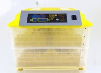 112 Eggs Incubator Automatic Hatcher Digital Poultry Eggs Temperature Control
