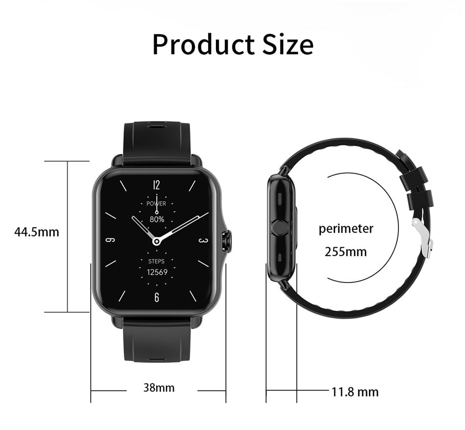 LIGE Smart Watch Men Bluetooth Call ECG Woman Smart Bracelet Waterproof Smartwatch