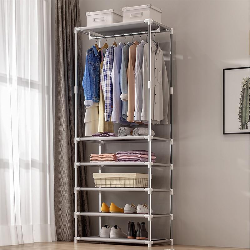 Coat Rack Floor Simple Clothes Bedroom Home Shelf Storage Simple Modern Hanger