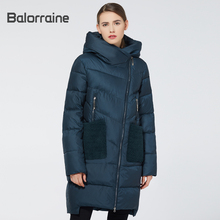 цена на 2019 New Woman Down Parka Fashion Female Winter Thick Coat Long Jacket For Women Winter Fashion Outerwear Coat Women Parka down Jacket hooded
