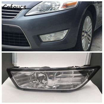 Cafoucs For Ford Mondeo 2007-2010 Car Front Bumper Fog Light With H11 12V 55W Bulbs BS71-15K202-AB