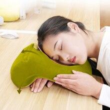 U-образная настольная Подушка для сна, подушка для шеи, подушка для сиденья, подголовник для путешествий, подушка для шеи с подлокотником