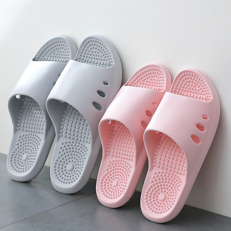 Massage Home Slippers Women Men 2020 New Summer Fashion Indoor Outdoor Woman House Shoes Beach Non Slip Ladies Bathroom Slide