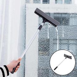 Pręt aluminiowy płyn do szyb gospodarstwa domowego dwustronne okno wycieraczki narzędzie do czyszczenia teleskopowy wytrzeć szkło artefakt