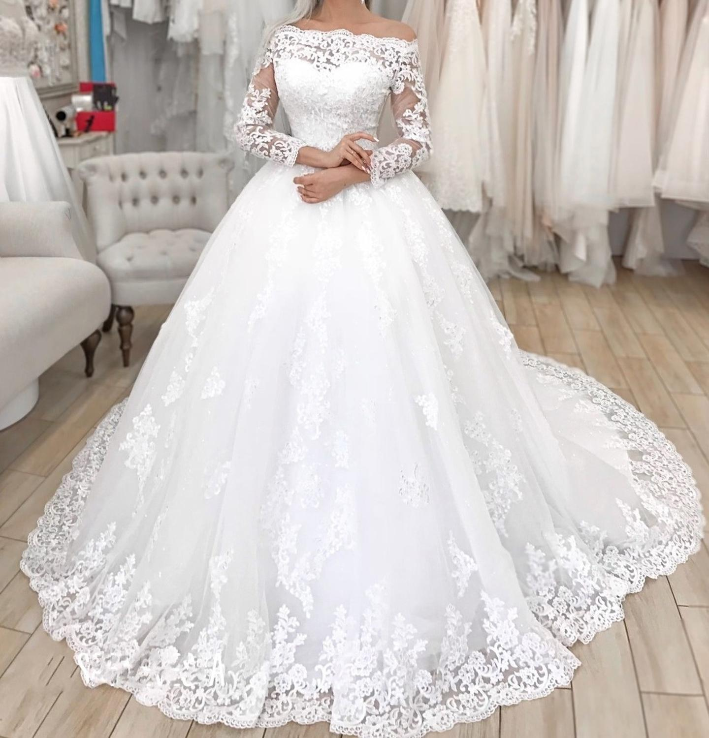 Immagini Abiti Da Sposa.Sexy Women Simple Vintage Abito Da Sposa 2019 Wedding Gowns