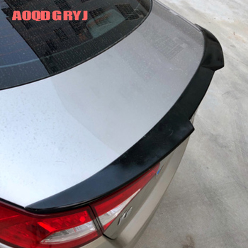 Car Styling Accessories 1pcs For Kia Optima K5 2011-2015 ABS Unpainted Rear Trunk Spoiler Wing