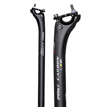 2020 High Strength Carbon Fiber Seatpost After Seat the Road Bicycle Seatpost Seat Tube Rod Carbon Seatpost Seat Tube