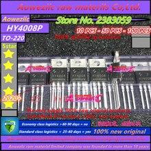 Aoweziic 2020 + 100 новый импортный оригинальный HY4008P HY4008 TO 220 FET 80V 200A