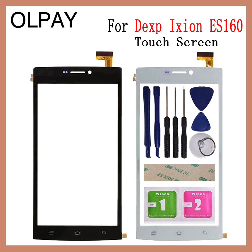 OLPAY 6.0'' Touch Screen For DEXP Ixion ES160 Touch Screen Digitizer Panel Front Glass Lens Sensor Tools Free Adhesive+Wipes