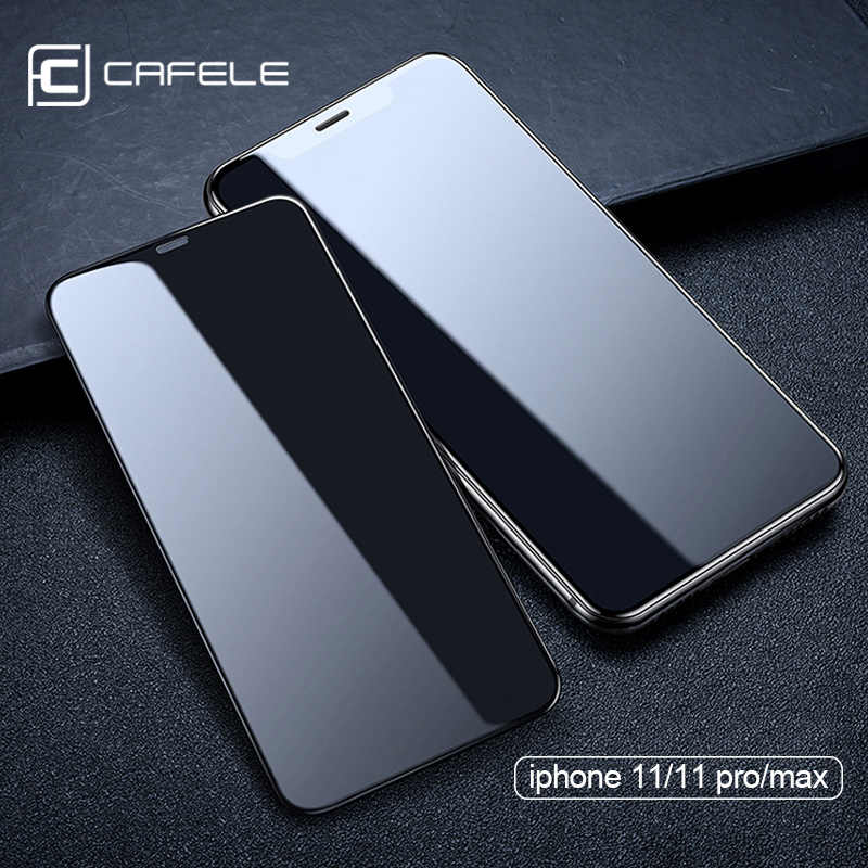 Cafele 9D full cover  Screen Protector Tempered Glass For iPhone  11 pro max Protective Glass for iPhone 11 pro max Protection