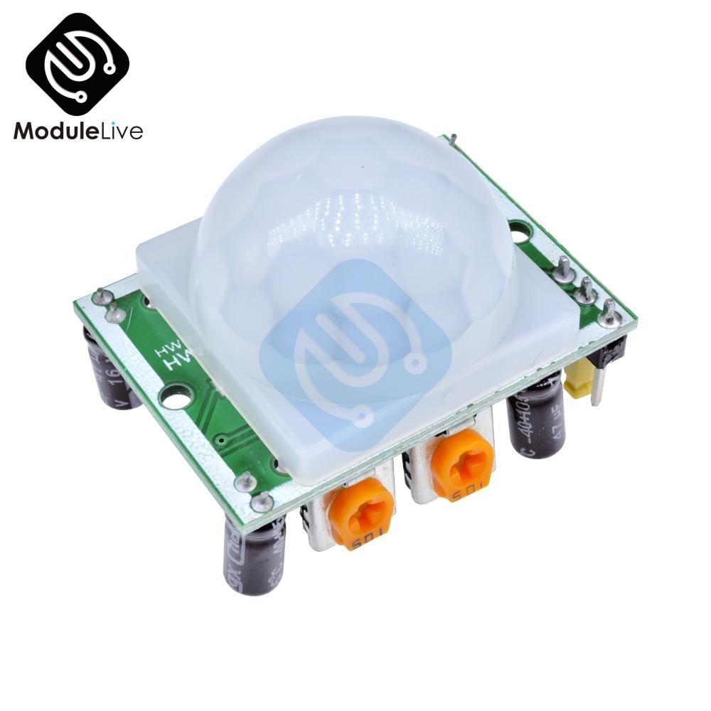HC-SR501 IR Pyroelectric Infrared PIR Motion Body Sensor Detector Module Arduino