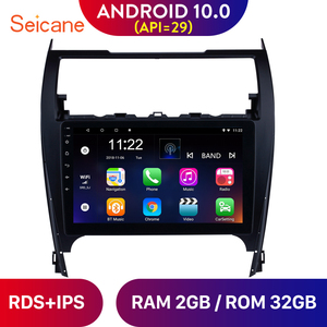 Seicane Android 10.0 RDS Car Radio Auto Stereo Head Unit Player For TOYOTA CAMRY 2012 2013 2014 2015 2016 2017 GPS Navigation