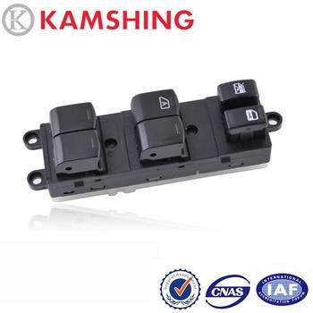 CAPQX para Nissan, Tiida, Sylphy Livian Geniss interruptor para ventana eléctrica, controlador lateral de vidrio, botón regulador de Control 254011JY0A
