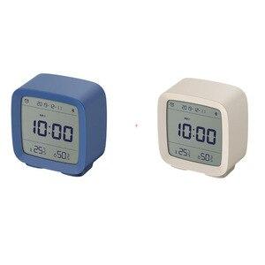 Image 5 - Sensor de humedad Youpin Qingping con Bluetooth, Sensor de temperatura y humedad, Mijia luz nocturna, alarma LCD, termómetro Mihome App