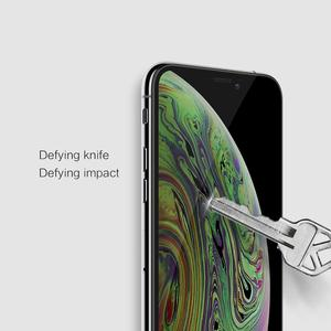 Image 3 - Nillkin for iPhone Xr 11 Pro Max X Xs Tempered Glass Screen Protector 3D Full Coverage Safety Glass for iPhone 8 7 Plus SE 2020