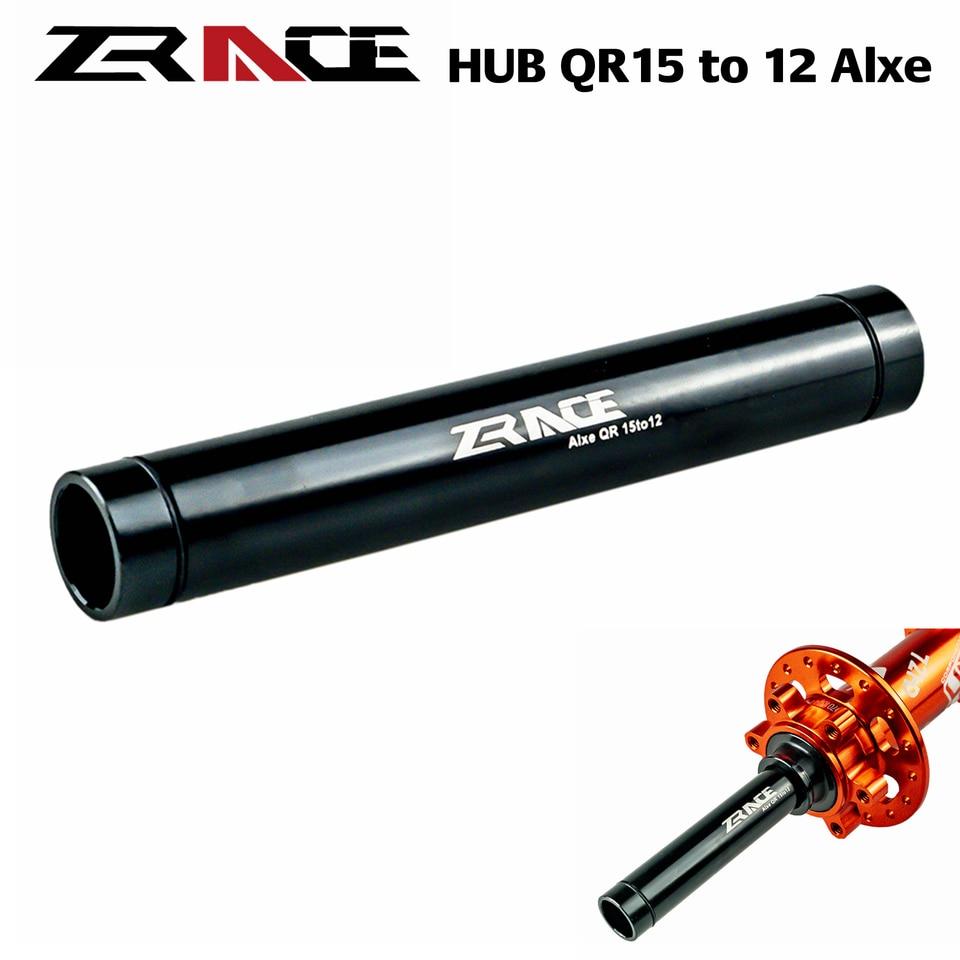 Rear Hub 15mm to 9 QR Thru Axle Wheel Adapter fork Converter Aluminum Alloy