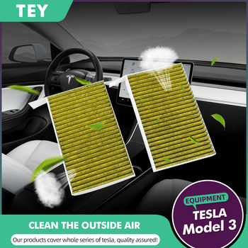 цена на Replacement Activated Cabin Air Filter For Tesla Model 3 Model X Model S
