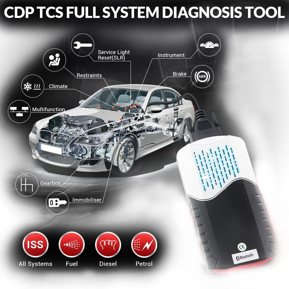 Scanner OBD pour delphi ds150e ds 150e 2019 CDP TCS CDP avec 2015 R3 2016.00 Keygen Bluetooth obd2 voitures camions outil de Diagnostic