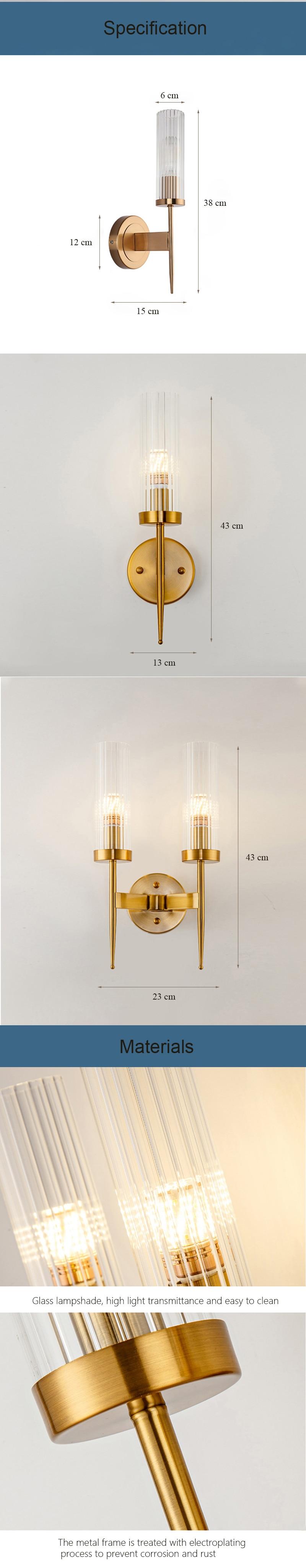 iluminação interior ouro para o quarto corredor