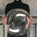 3 предмета в комплекте 8/12/18/20/24/дюйма светящийся прозрачный Bobo пузырьки шары Рождество Одежда для свадьбы, дня рождения ясный гелий Ballo