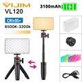 VIJIM VL120 LED Video Light with Softbox and RGB Color Filters Tripod Lighting Vlog Kit Light Panel for Smartphone DSLR SLR Vlog