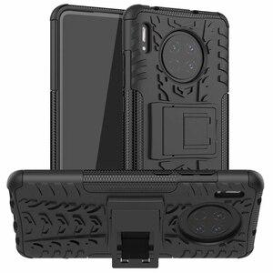 Защитник Стенд TPU PC противоударный защитный силиконовый пластиковый бронированный чехол для Huawei P40 P20 P30 Lite Mate 20 30 Pro P Smart 2019