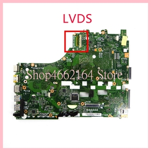 Image 2 - X550ZE материнская плата REV2.0 для ASUS X550ZE A10 7400CPU Материнская плата ноутбука X550 X550Z X550ZA ноутбук материнская плата полностью проверена