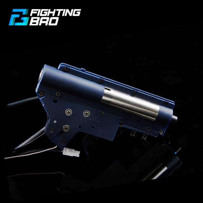 FightingBro Gearbox FB4.0 Mar.2020 Enhanced Upgrade Module Split Nylon V2 Gearbox Gear Box For Water Gel Ball Blaster