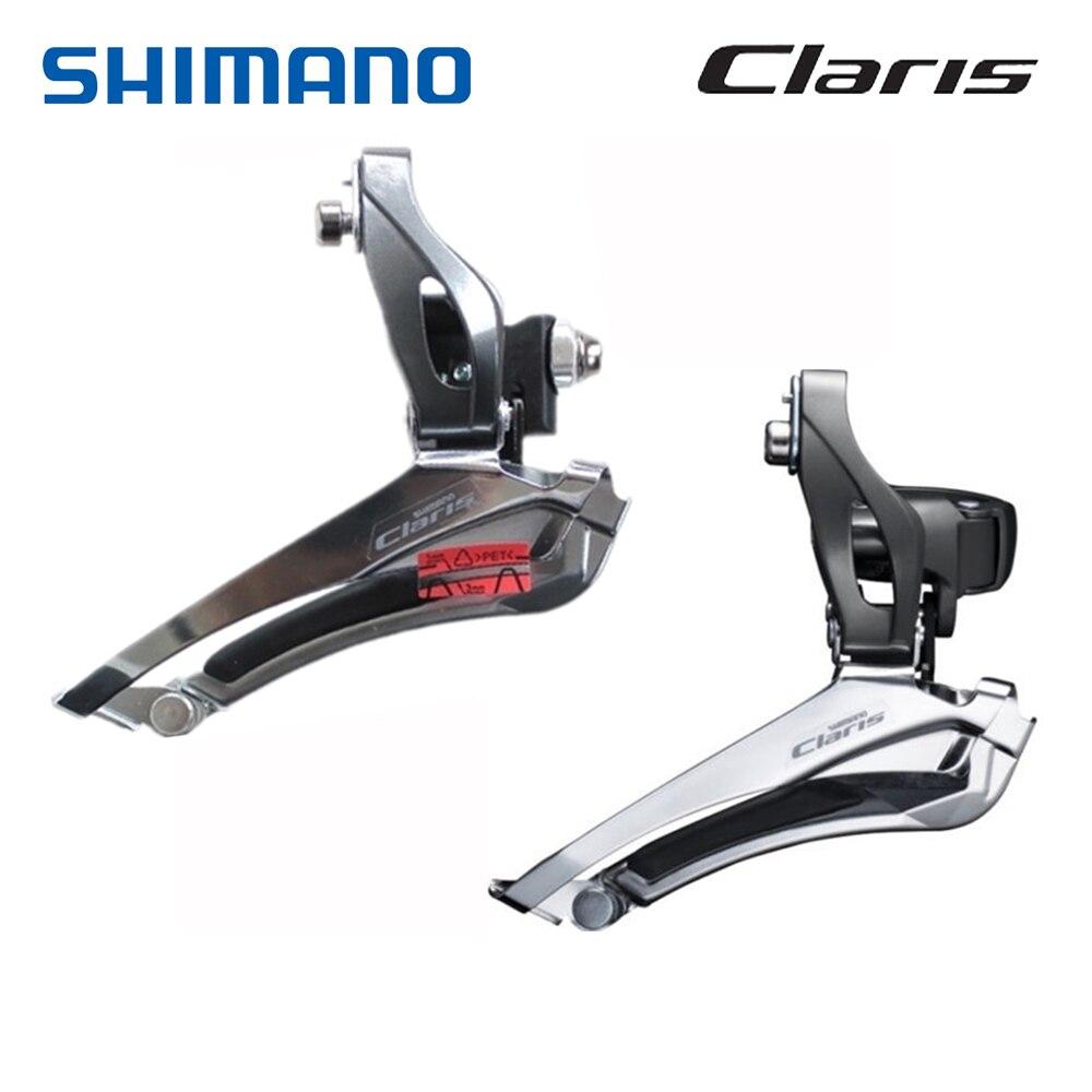 Передний переключатель передач SHIMAN0, задний переключатель света для дорожного велосипеда, 2x8 скоростей, R2000, передние переключатели, зажим, 31...