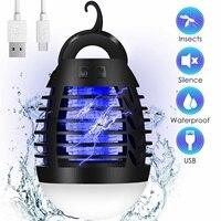 전기 모기 킬러 램프 LED 버그 재빠른 안티 모기 킬러 램프 곤충 트랩 램프 킬러 홈 거실 해충 방제