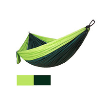1 pc Parachute Hammocks Portable Hammock Double 2 Person Sleeping Camping Travelling Leisure Products Many Colors are Optional