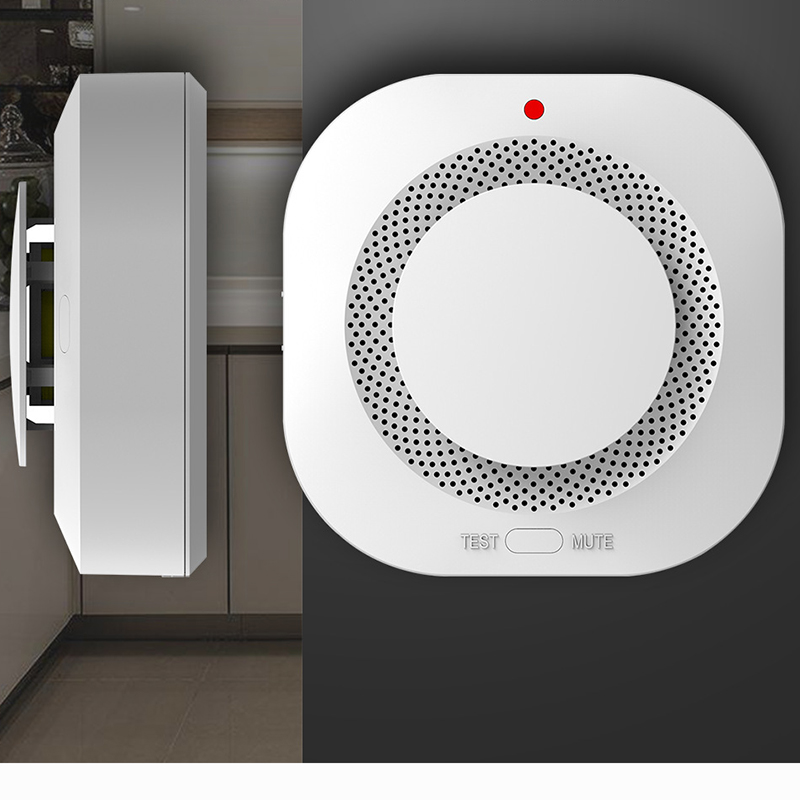 Smoke Detector Sensor Mijia Fire Alarm Audible&Visual Alarm Work With Gateway 2 Smart Home Remote APP Control High Sensitivity