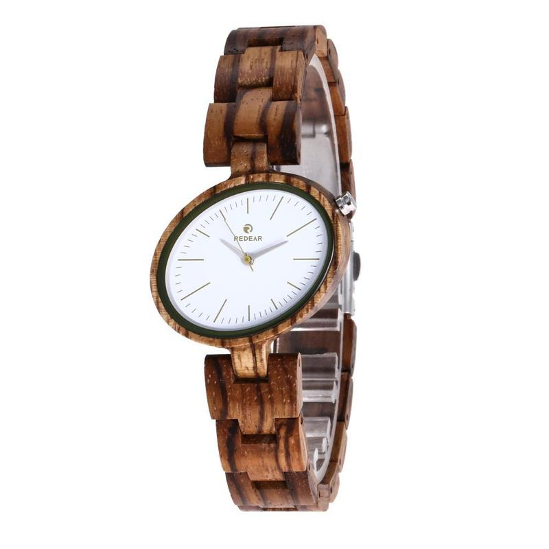 2019 Rushed Ms. Wood Factory Spot A Undertakes The New Small Dial Watch Amazon Sells Wooden Table